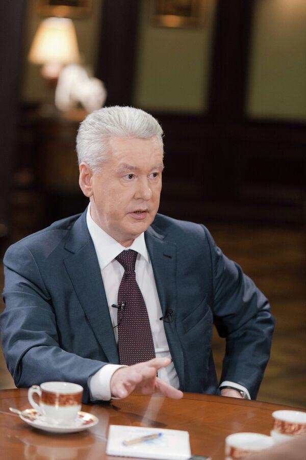 Sergei Sobyanin - Sputnik International