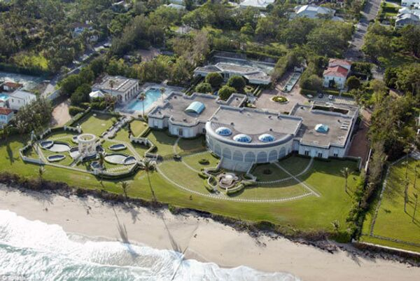 Dmitry Rybolovlev's house in Palm Beach, which was once owned by American millionaire Donald Trump - Sputnik International