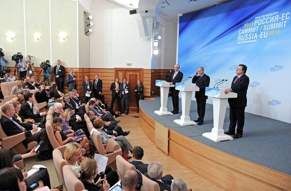Russia-European Union Summit - Sputnik International