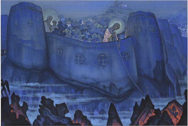 """Nikolai Roerich """"Madonna Laboris"""" - Sputnik International"""