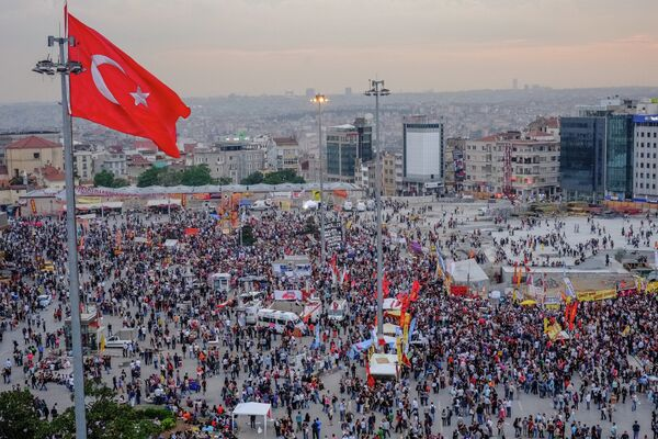 Anti-government protests in Turkey - Sputnik International