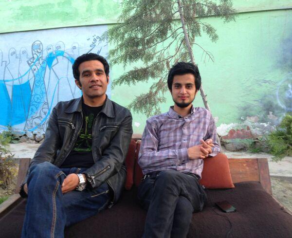 Kabul Dreams: Sulyman Qardash (vocals/guitars), right, and Siddique Ahmed (bass) - Sputnik International