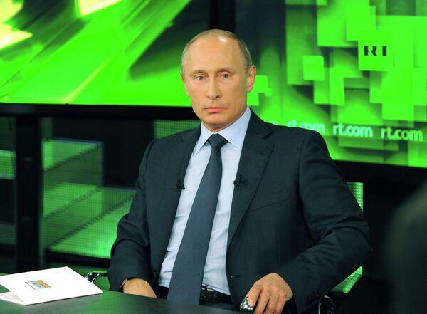 Putin Accuses US of Backing Russia's Opposition - Sputnik International
