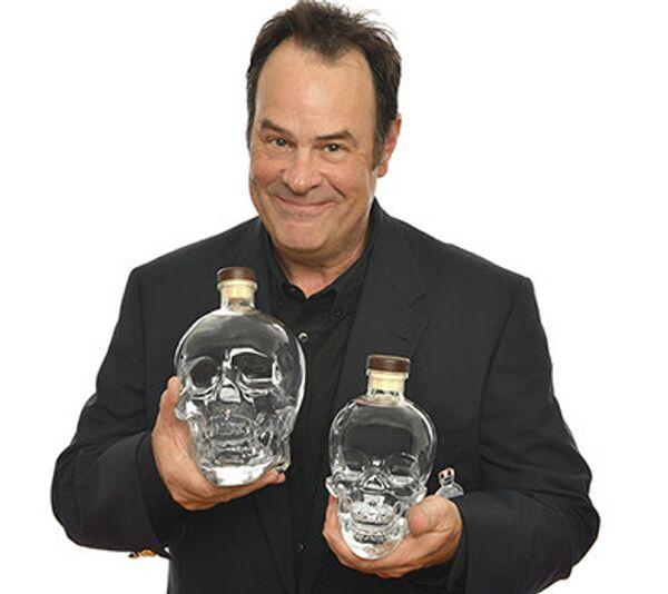 """""""Ghostbusters"""" star Dan Aykroyd created Crystal Head vodka in 2008. - Sputnik International"""