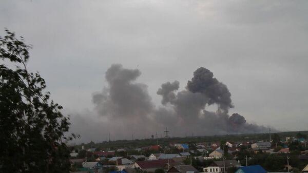 Russia Probes Blasts at Depot Storing 'Millions' of Shells - Sputnik International