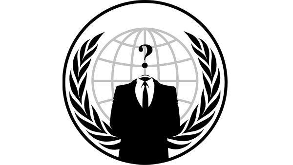 Anonymous group logo - Sputnik International