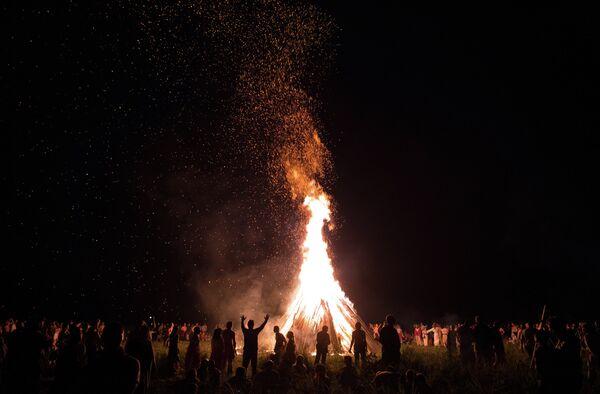 Bonfire (archive photo) - Sputnik International