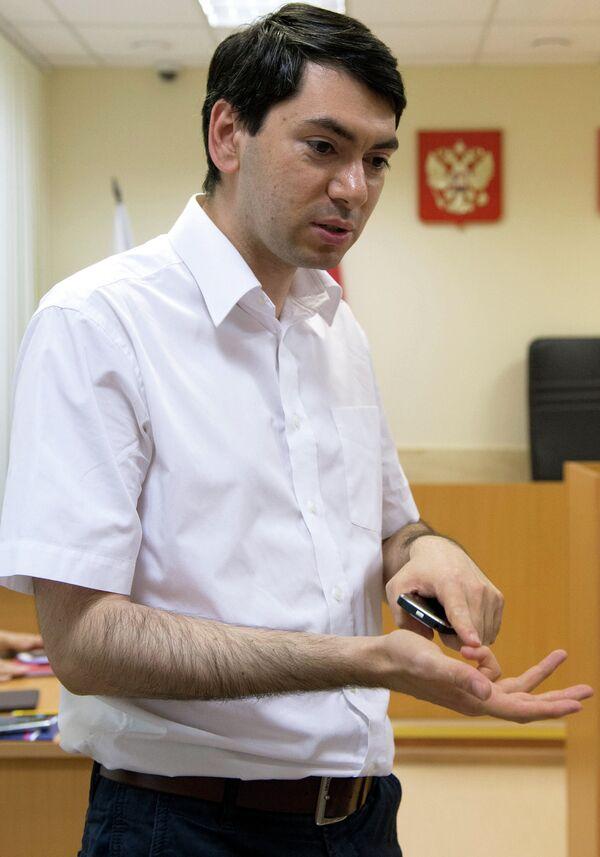 Golos deputy executive director Grigory Melkonyants - Sputnik International