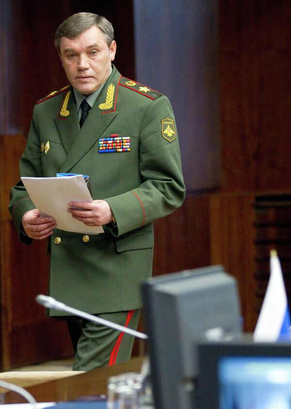 General Valery Gerasimov, chief of the General Staff of Russia's Armed Forces - Sputnik International