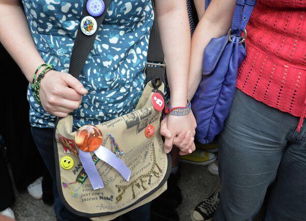Same-Sex Couple Demands Marriage Registration in Russian Court - Sputnik International