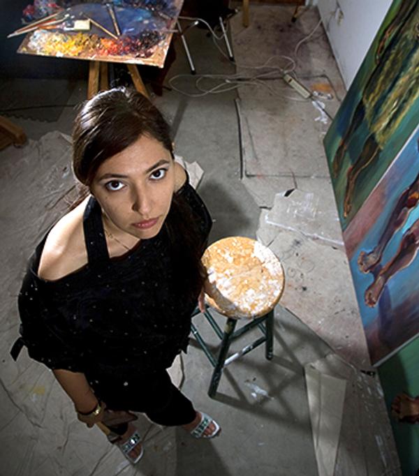 Moscow-born artist Zhenya Gershman - Sputnik International