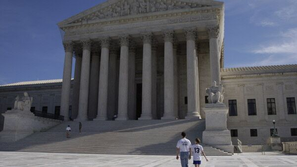 The Supreme Court of the United States in Washington - Sputnik International