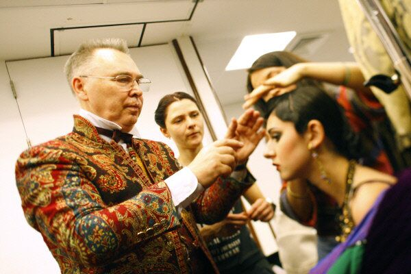 Slava Zaitsev, photographed at his fashion show in Moscow in 2009 - Sputnik International