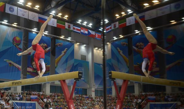 Universiade: Mustafina Stars at Artistic Gymnastics - Sputnik International