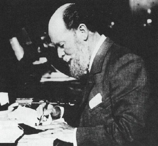 Carl Faberge was a Russian jeweler who died in 1920. - Sputnik International