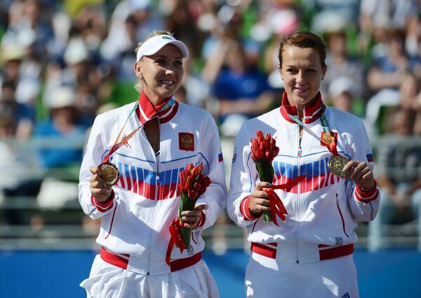 Elena Vesnina and Anastasia Pavlyuchenkova - Sputnik International