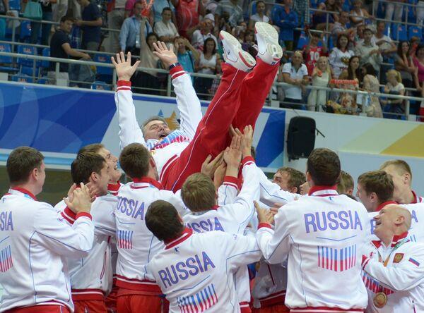 Russian men's volleyball team - Sputnik International