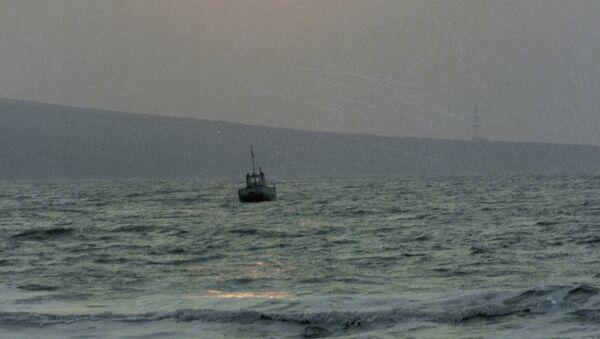 Судно в Азовском море. Архив - Sputnik International