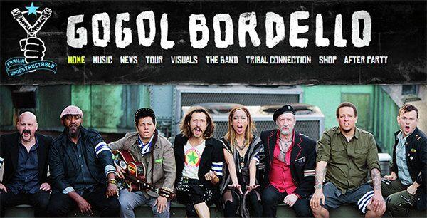 Gogol Bordello's website - Sputnik International
