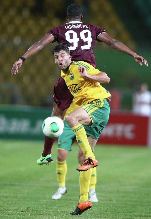 Rondon Scores 2-1 Win for Rubin vs. Zenit - Sputnik International