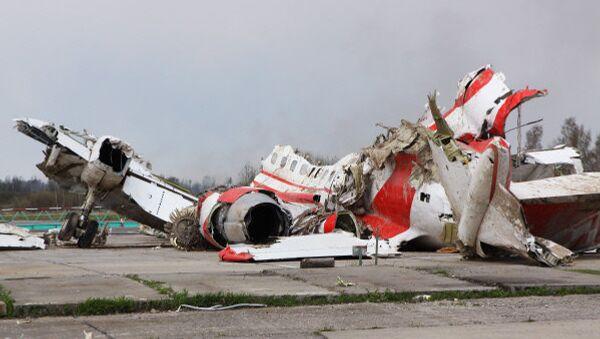 Kaczynski Plane Debris - Sputnik International