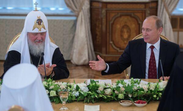 Christianity Made Russia Great World Power – Putin - Sputnik International