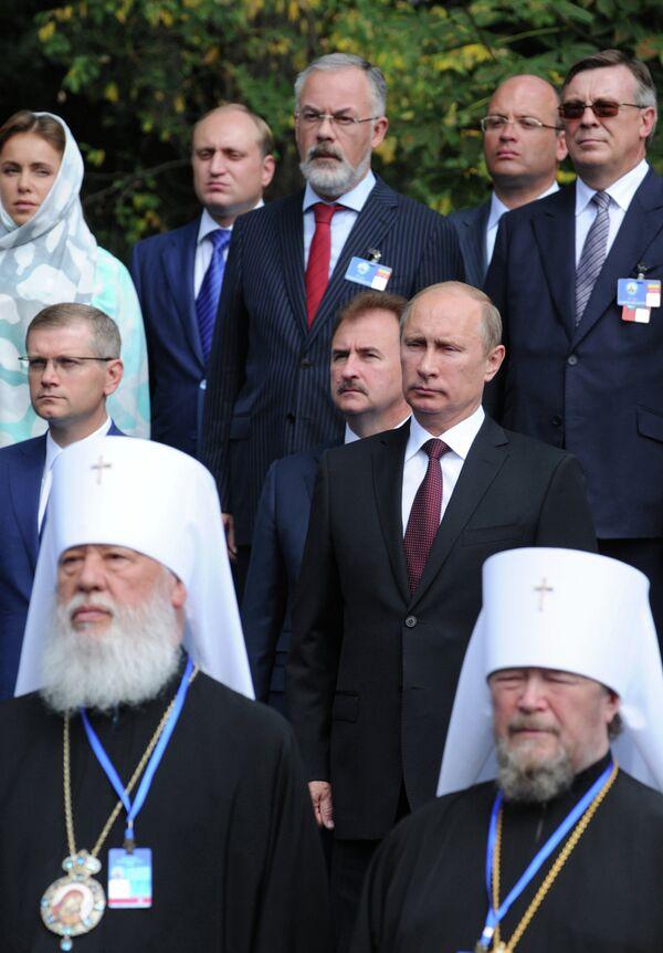 "During Baptism Anniversary, Putin Lauds Russian-Ukrainian ""Spiritual Unity,"" Urges Integration - Sputnik International"