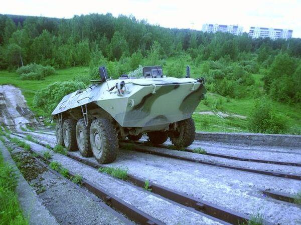 Russia Develops Silent Robotic Armored Vehicle - Sputnik International