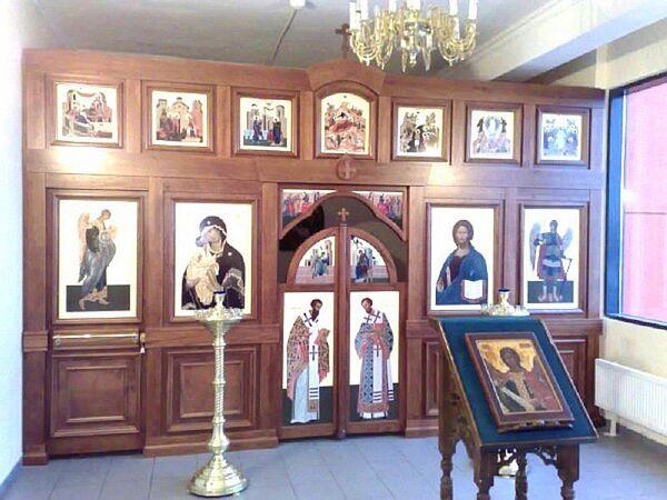 Russian Orthodox chapel at Sheremetyevo Airport - Sputnik International