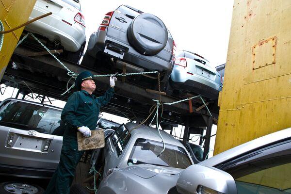 Radiation-Contaminated Japanese Cars Still Concern – Russian Customs - Sputnik International