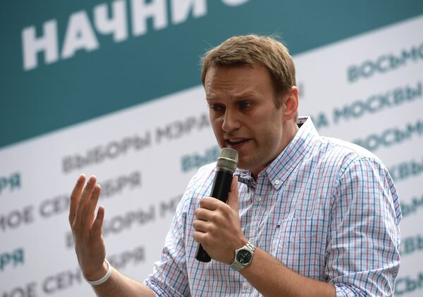 Navalny Clinches Rally Deal With Moscow's City Hall - Sputnik International