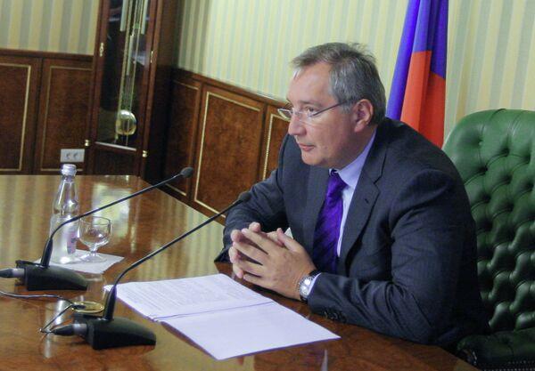 Deputy Prime Minister Dmitry Rogozin - Sputnik International