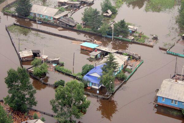 Flood in Amur Region - Sputnik International