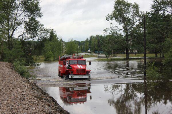 Floods Ravage Russia's Far East - Sputnik International