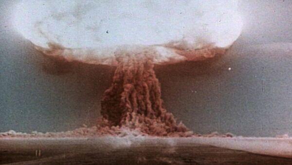 The First Soviet H-Bomb Test on August 12, 1953 - Sputnik International