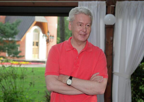 Acting Moscow Mayor Sergei Sobyanin - Sputnik International