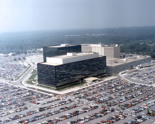 The National Security Agency (NSA) headquarters in Fort Meade, Maryland - Sputnik International