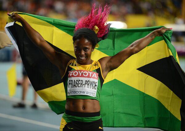 Fraser-Pryce Wins World Championships Gold in 200m - Sputnik International