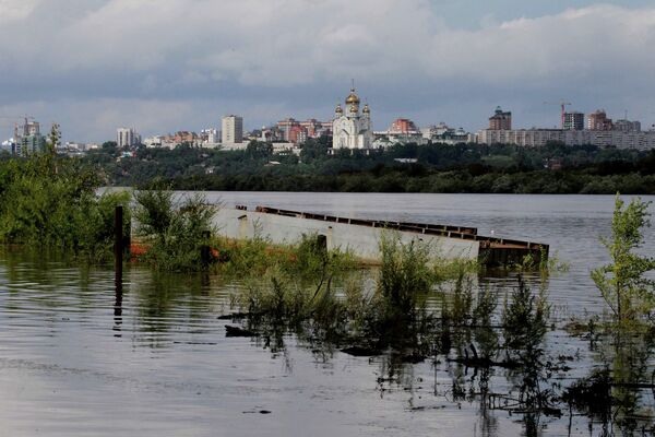 Floods in Russia's Far East Claim More Areas – Ministry - Sputnik International
