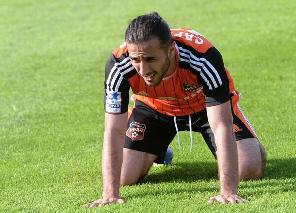 Ural striker Artur Sarkisov missed the hosts' best chances - Sputnik International