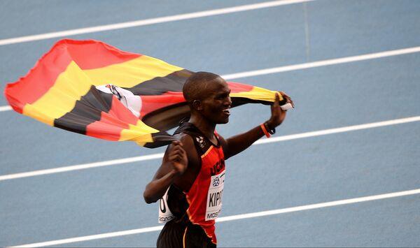 Uganda's Kiprotich Wins Marathon Gold at Moscow Worlds - Sputnik International