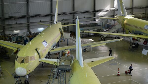 Russia Plans to Build 150 Aircraft in 2014 - Sputnik International