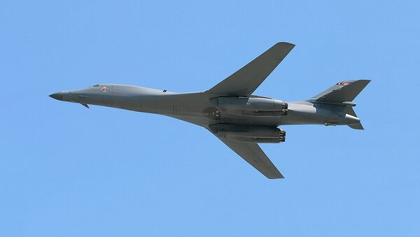 B-1B Lancer strategic bomber - Sputnik International