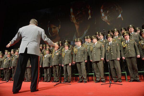 Russian army choir - Sputnik International