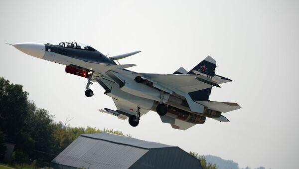 Su-30SM is a supermaneuverable multirole fighter - Sputnik International