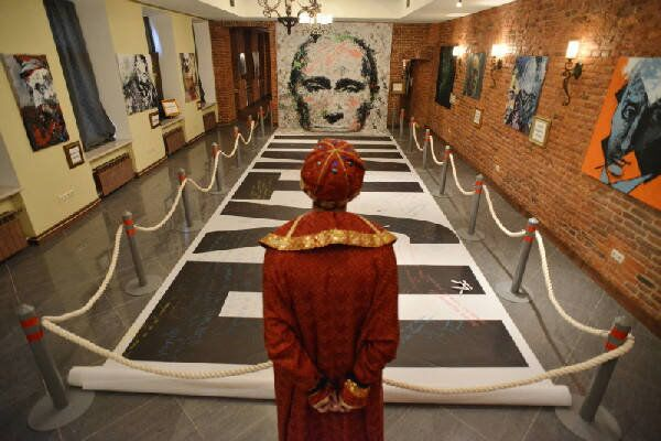 Exposition at the Museum of Authority in St.Petersburg - Sputnik International