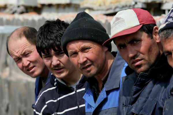 Labor migrants - Sputnik International