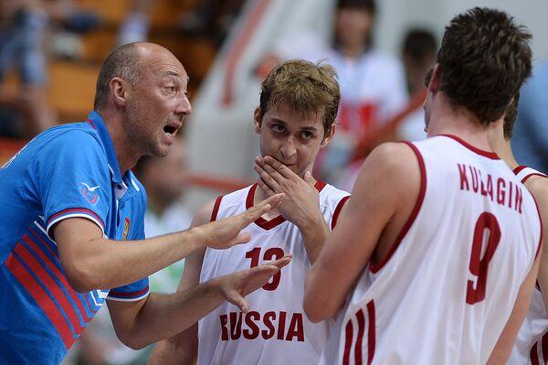 Russia Announces EuroBasket Roster - Sputnik International