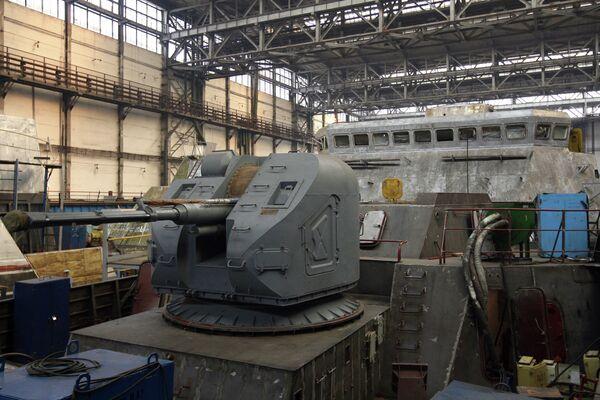 The Zelenodolsk shipyard. (Archive) - Sputnik International