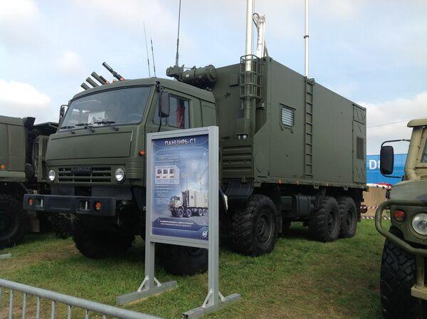 Russia Unveils Pantsir Air-Defense Command Station at Airshow - Sputnik International
